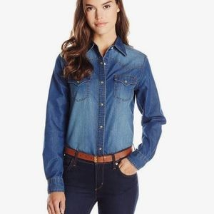 Wrangler Denim Button down